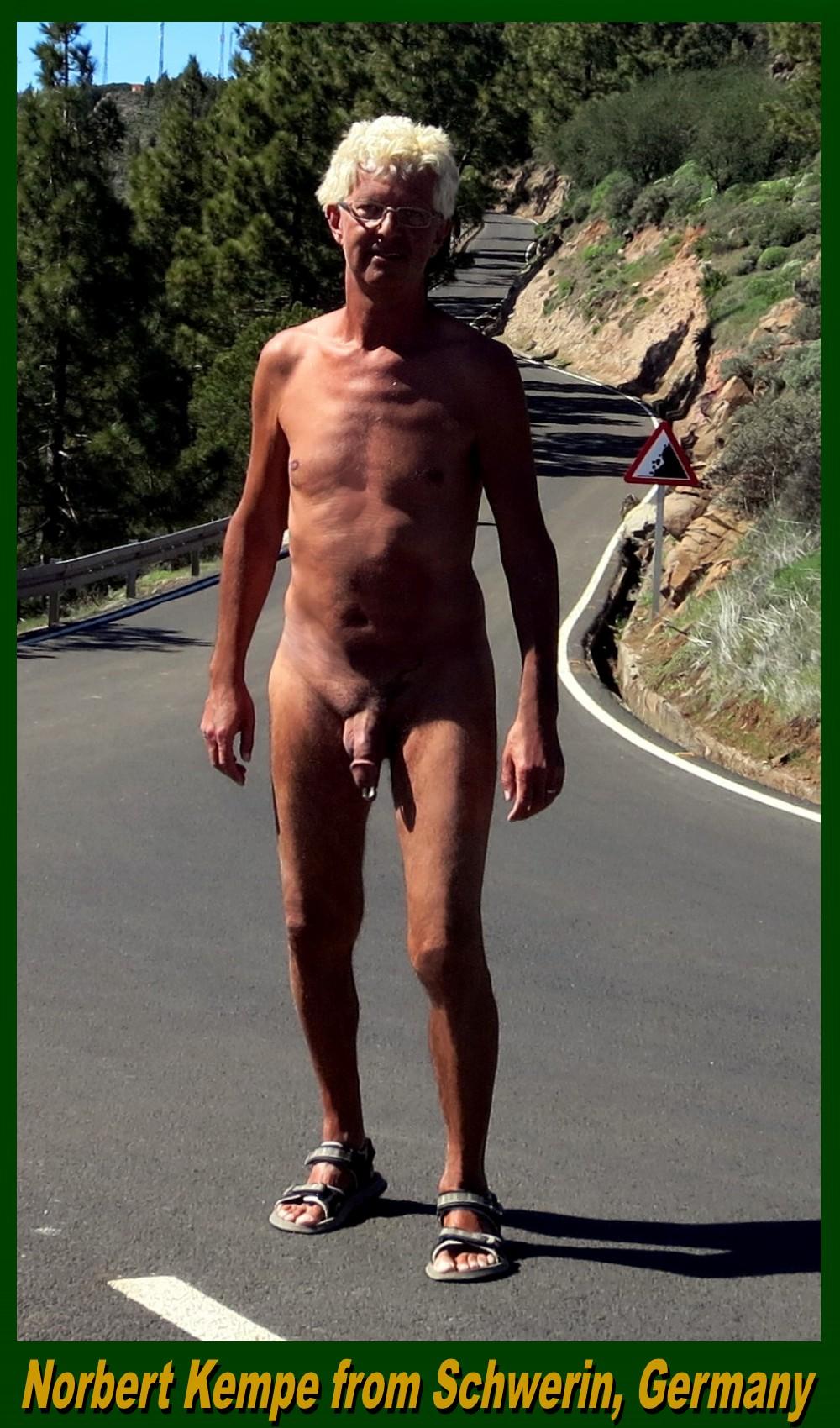 Norbert Kempe fully naked