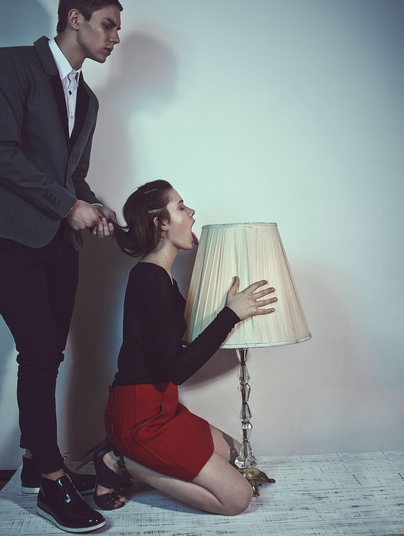 Anna Bertulite, Fede Sarandon by Omar Coria / My Shade for HUF Magazine