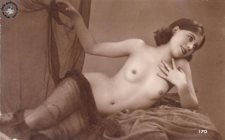 Vintage hairy nude-5767