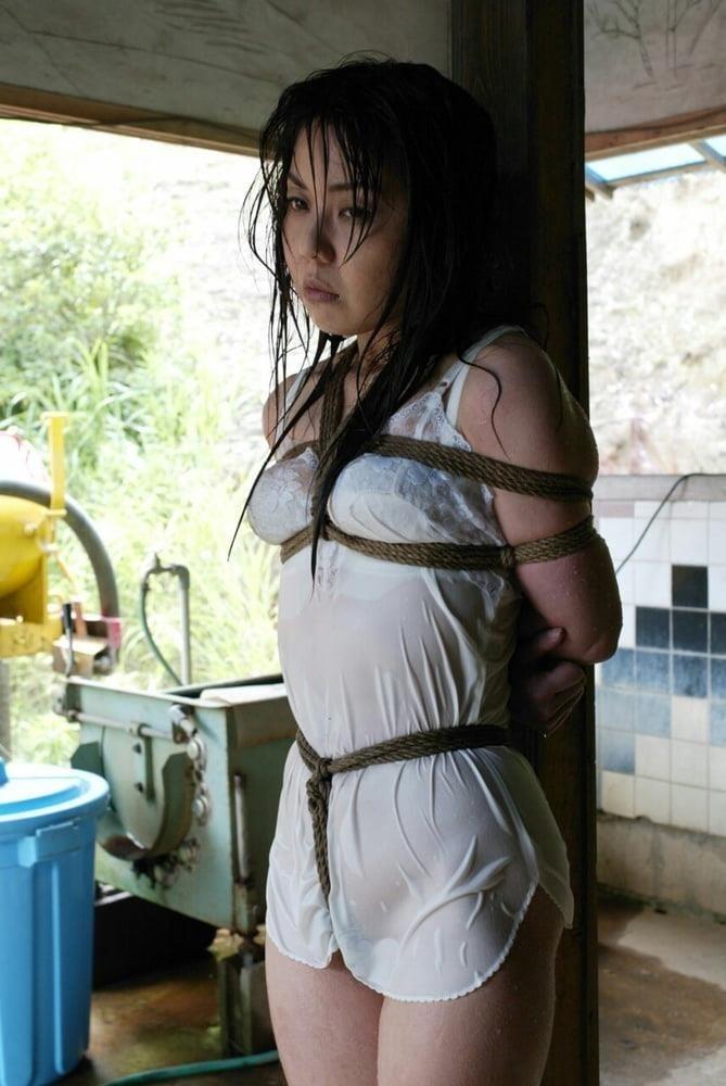 Chubby girl in bondage-3421