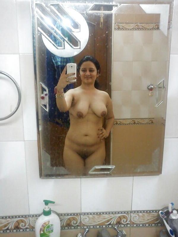 Chubby nude selfie-8655