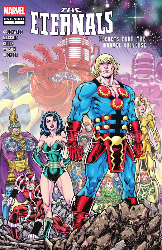 Eternals - Secrets From the Marvel Universe 001 (2020)