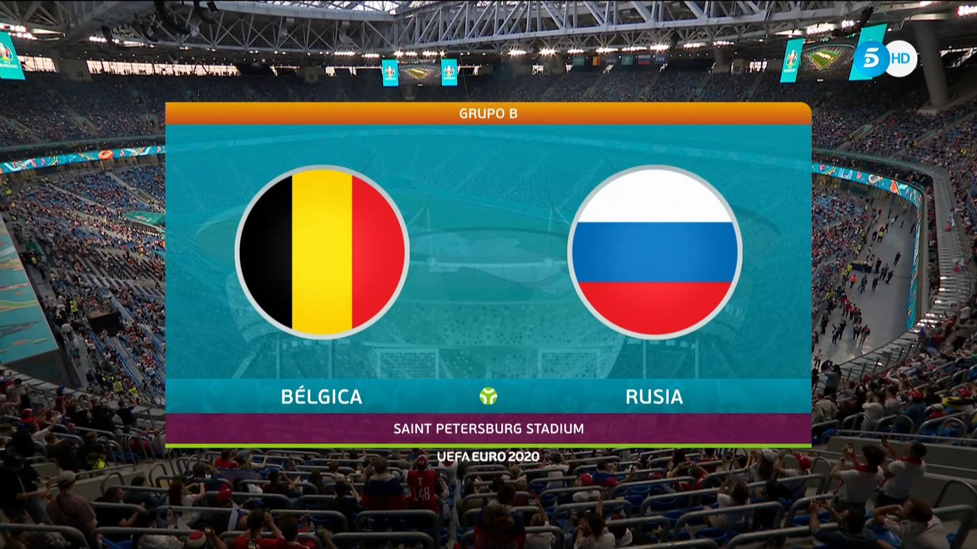 Full match: Belgium vs Russia