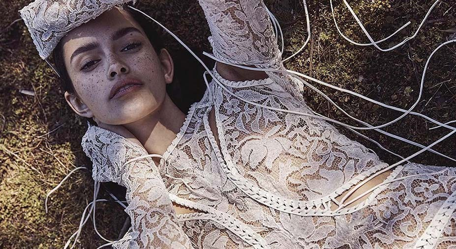 Zoe Barnard by Nicole Bentley - Vogue Australia november 2017