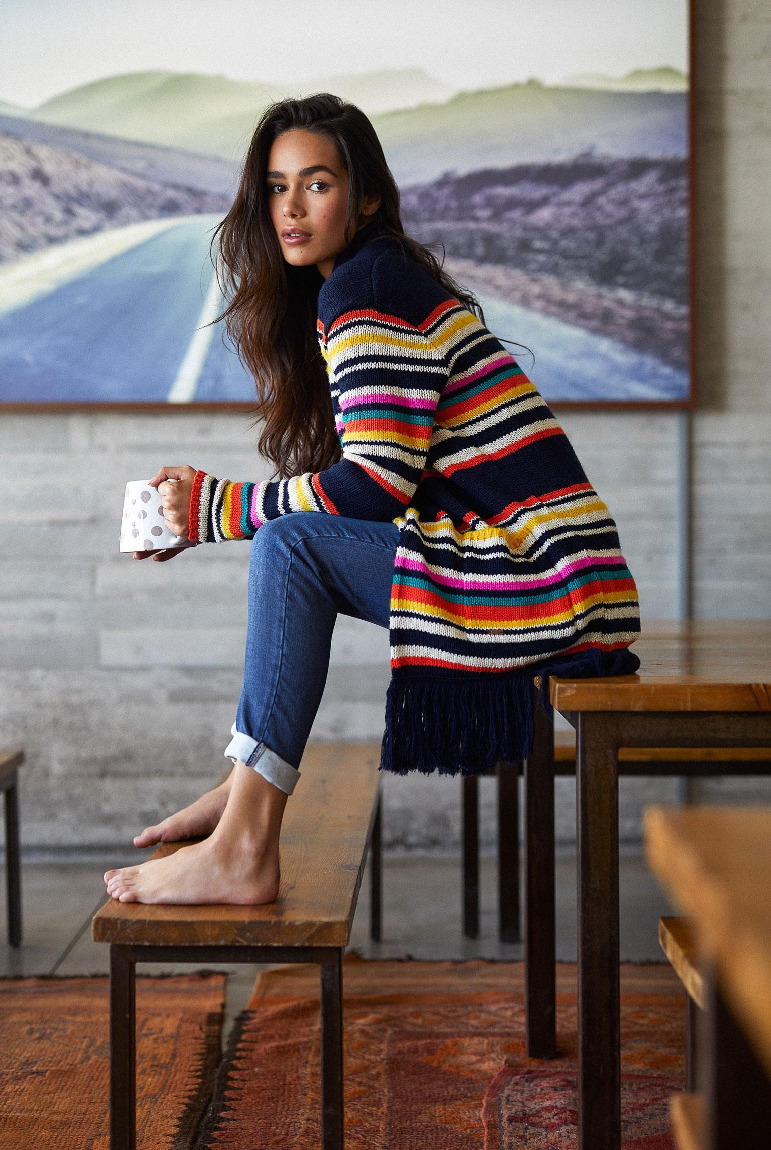 Наринэ Матецкая в модной одежде BananaMoon, коллекция осень/зима 2019/20 / фото 06