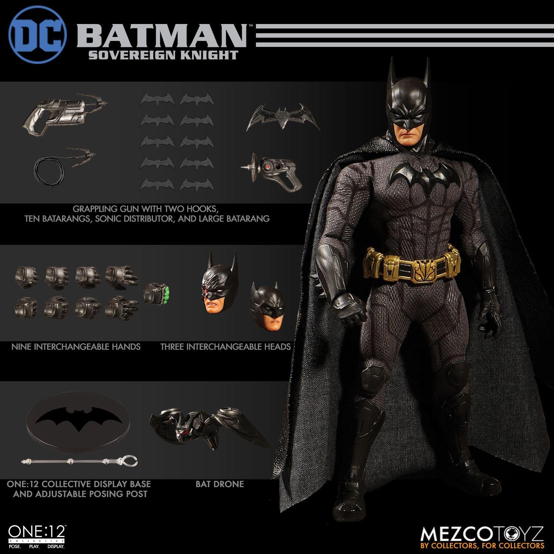 """Sovereign Knight Batman - One 12"""" (Mezco Toys) H1BanTxN_o"""