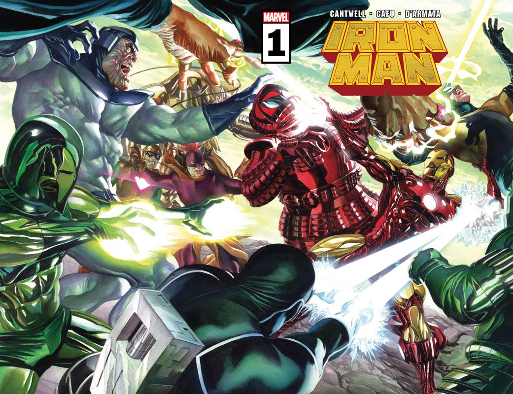 Iron Man #1-5 (2020-2021)