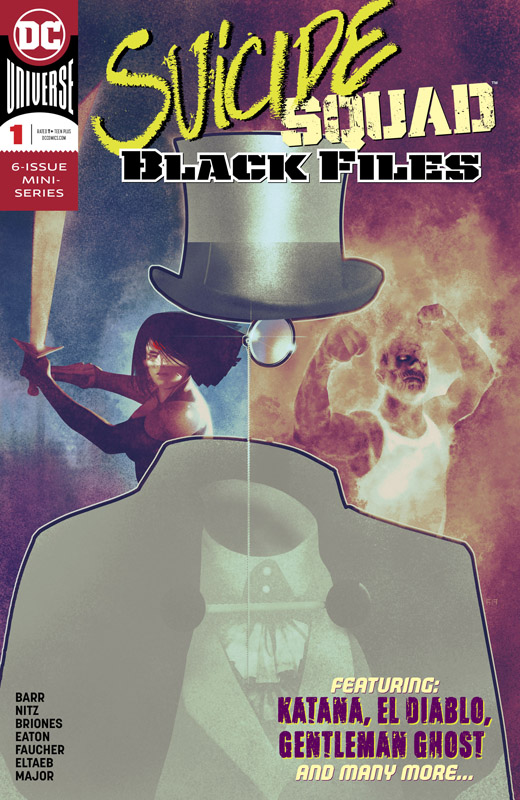 Suicide Squad Black Files #1-2 (2018-2019)
