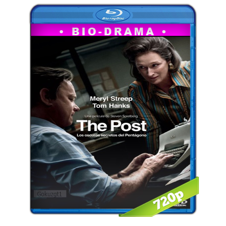 The Post Los Oscuros Secretos Del Pentagono [2017][BD-Rip][720p][Trial Lat-Cas-Ing][VS]
