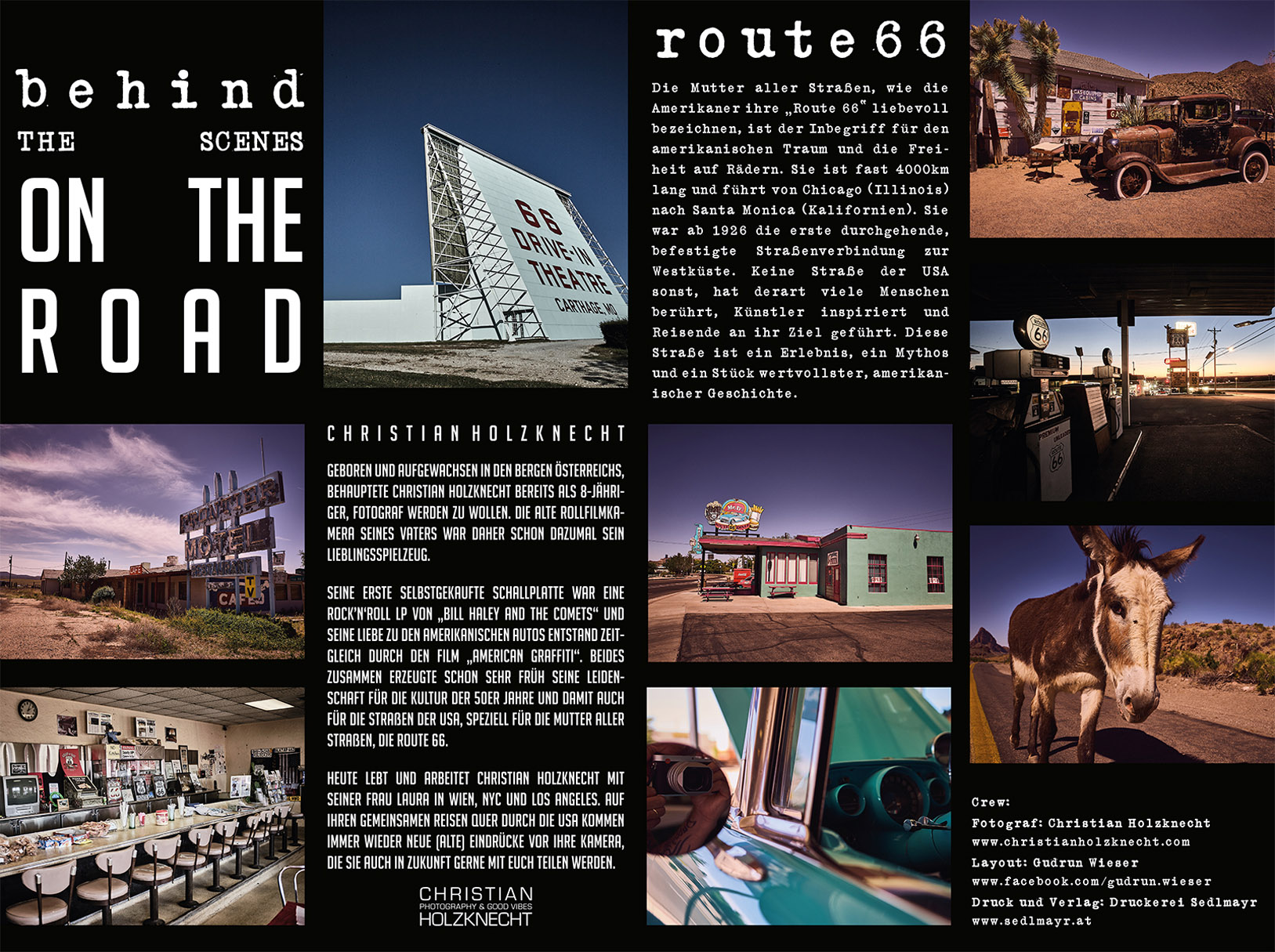 Route 66 / календарь 2020 / за кадром