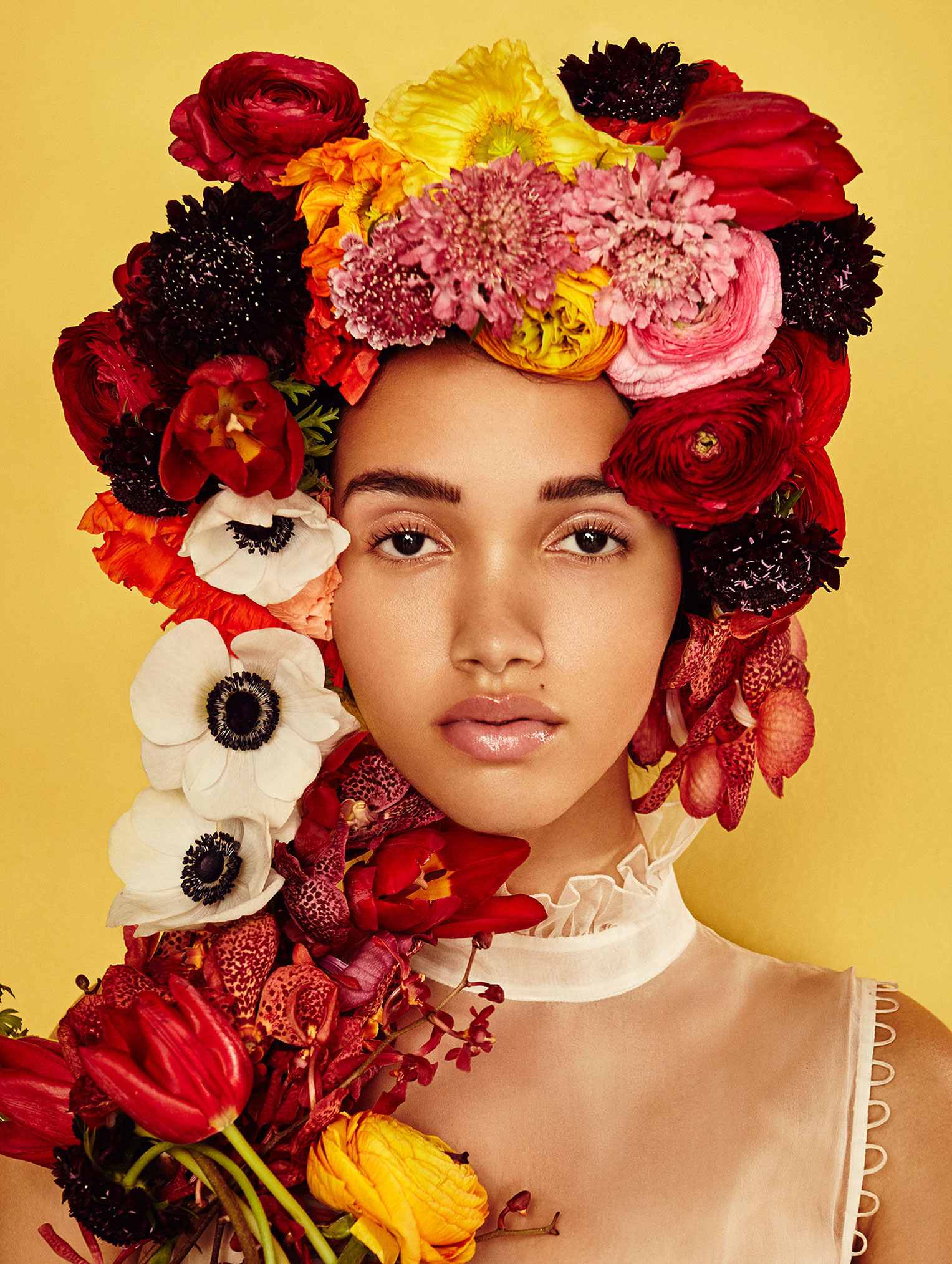 Cassey Chanel by Jenny Brough / Evening Standard Magazine may 2016