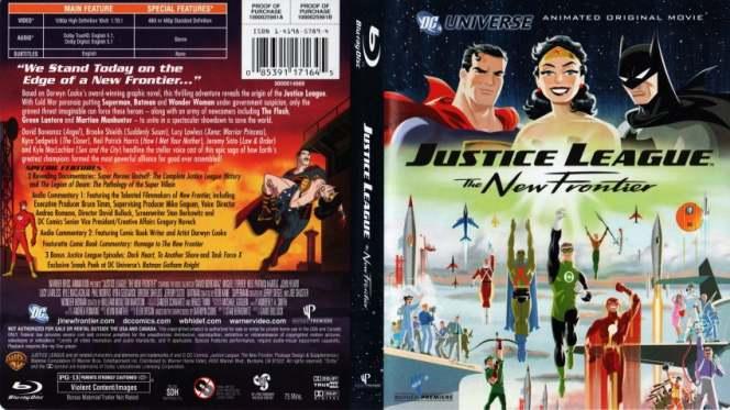 Liga De La Justicia La Nueva Frontera (2008) BRRip Full 1080p Audio Trial Latino-Castellano-Ingles