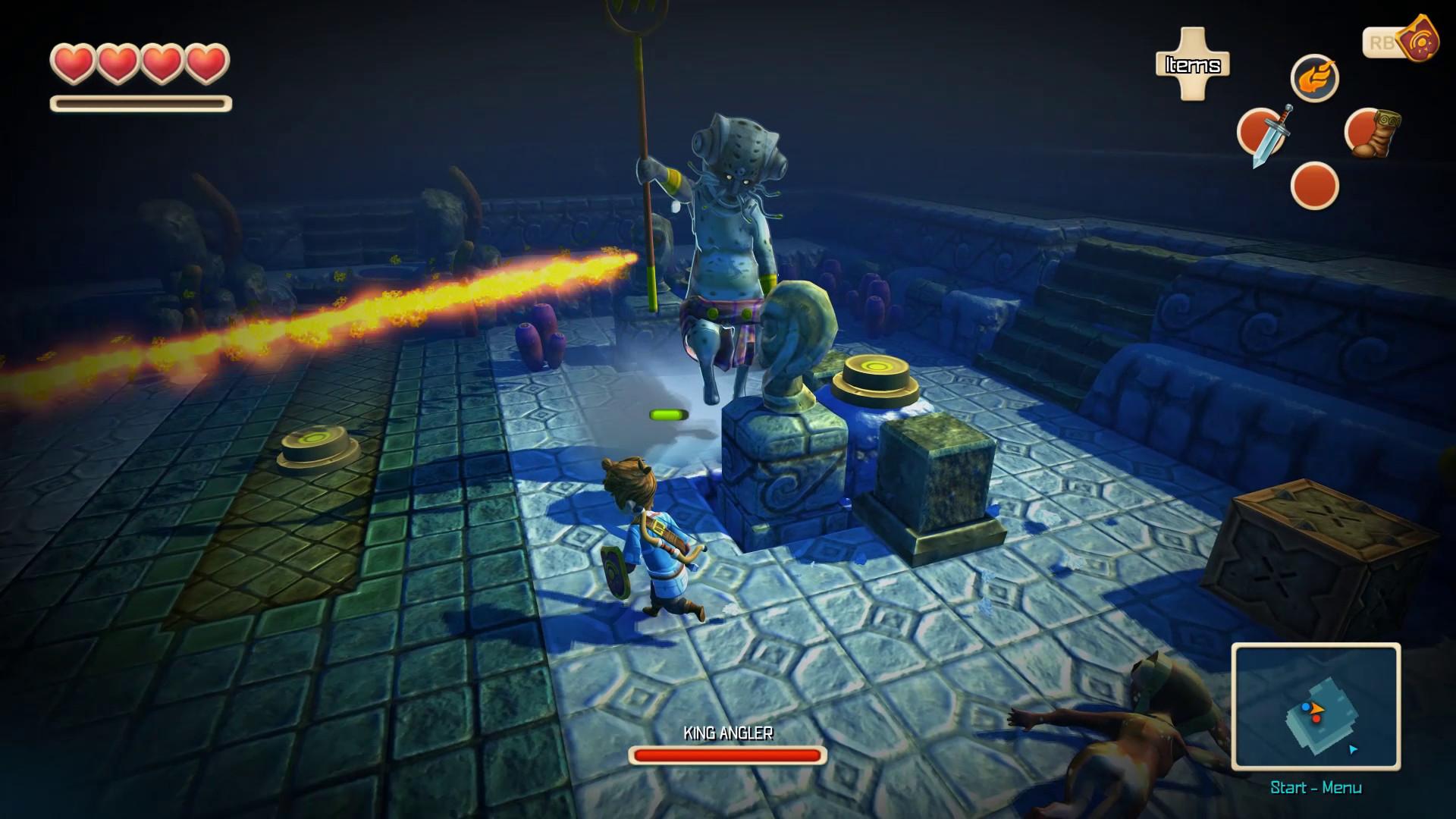 Oceanhorn: Monster of Uncharted Seas Captura 3