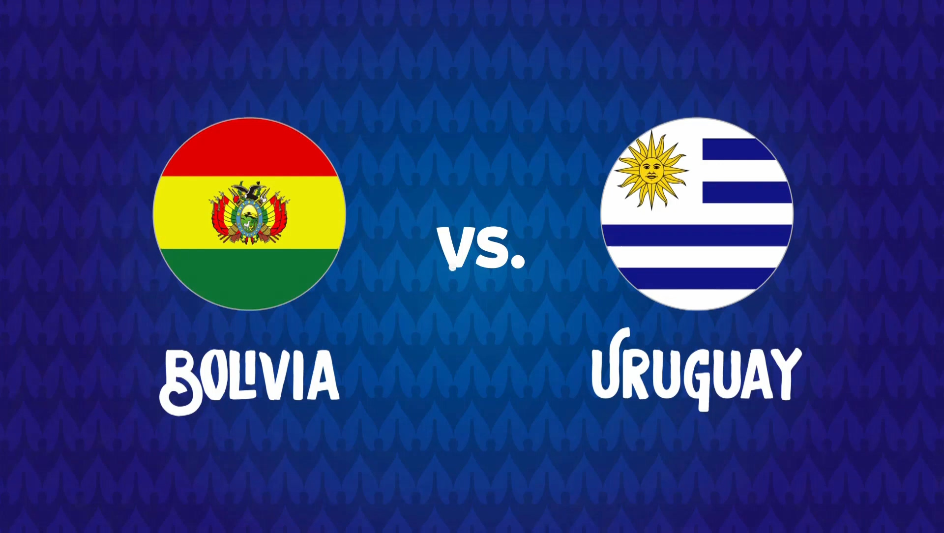 Full match: Bolivia vs Uruguay