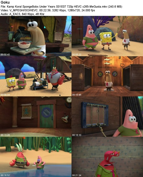 Kamp Koral SpongeBobs Under Years S01E07 720p HEVC x265-MeGusta