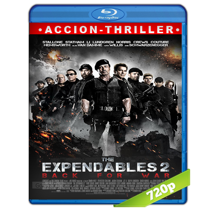 Los Indestructibles 2 720p Lat-Cast-Ing[Acción](2012)