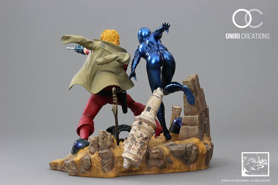 Cobra Space Adventure - 40th Anniversary - Statue Résine (Oniri Créations) L0fgTMgu_o