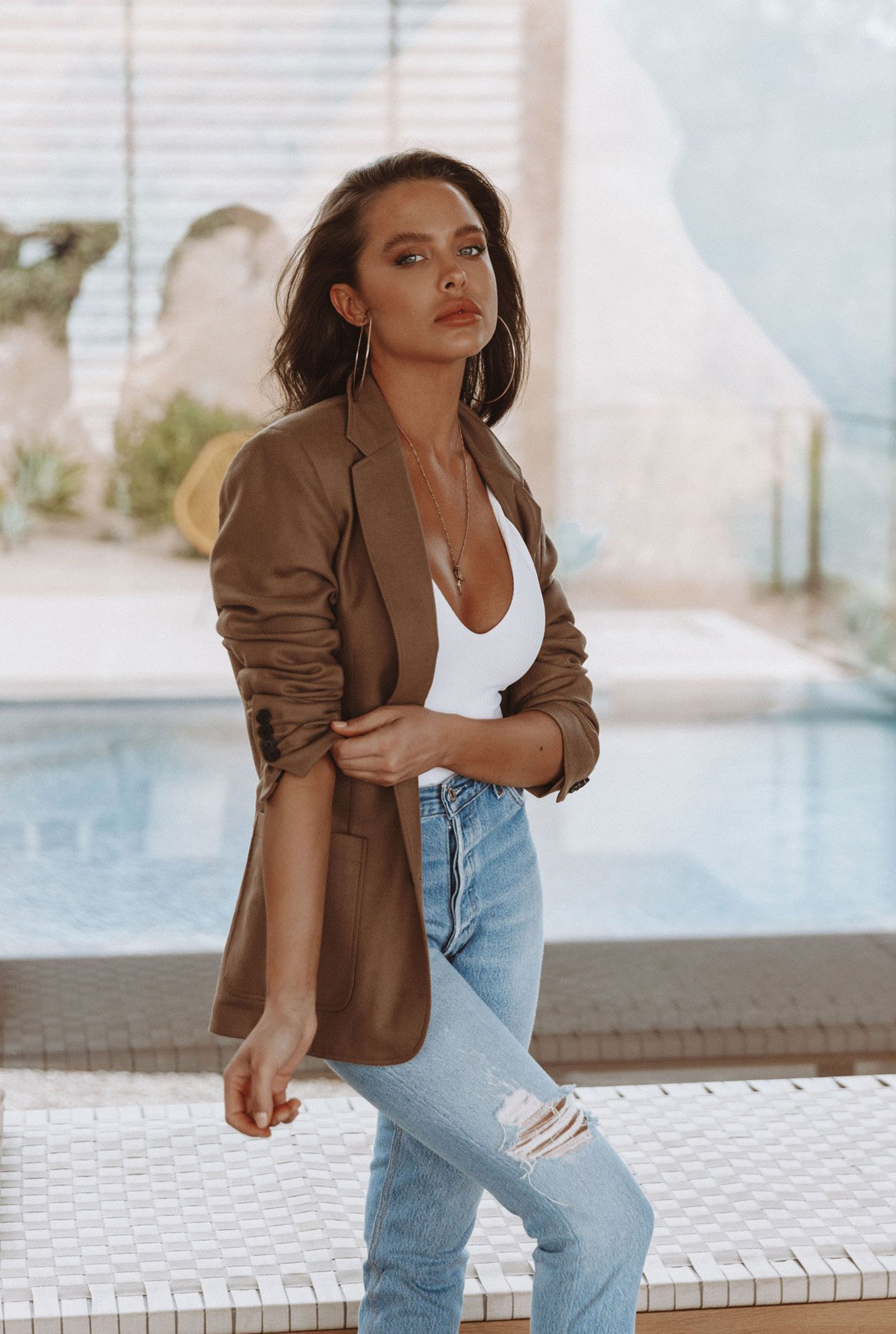 Мара Тиген в нижнем белье и купальниках модного бренда Gooseberry Intimates / фото 28