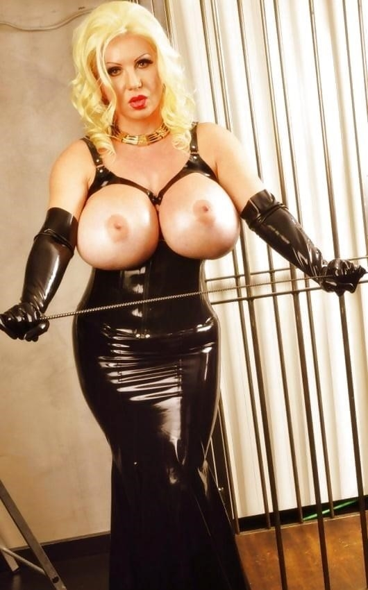 Latex big tits pics-2139