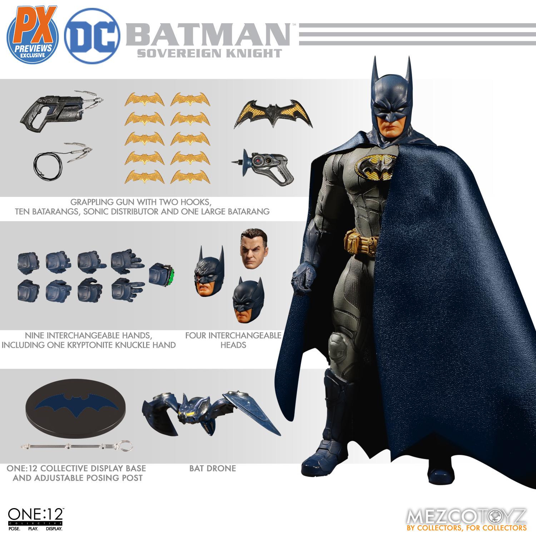 "Sovereign Knight Batman - One 12"" (Mezco Toys) ZfkTcFjW_o"
