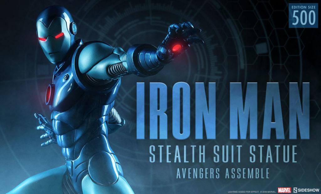 Iron Man Stealth Suit Statue - Marvel Comics - Avengers Assemble (Sideshow) K5er4Mq2_o