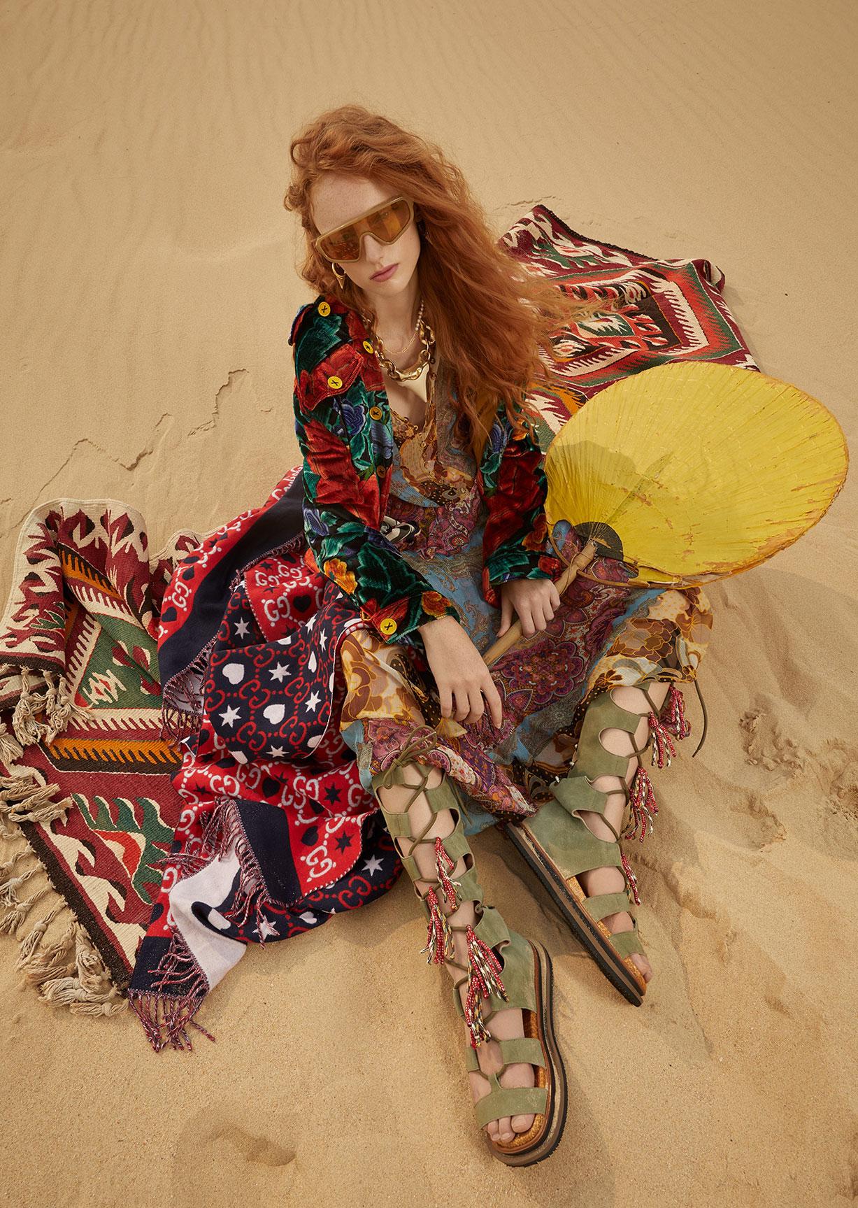 Модный маскарад в журнале Grazia / фото 05