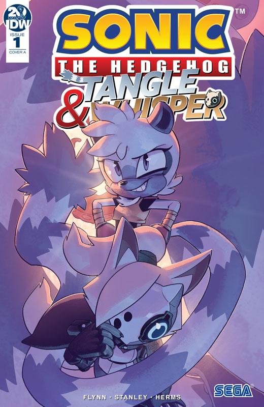 Sonic the Hedgehog - Tangle & Whisper #0-4 (2019)