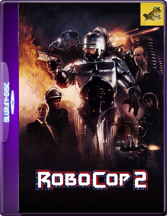 Robocop 2 (1990) Brrip 1080p (60 FPS) Latino / Inglés