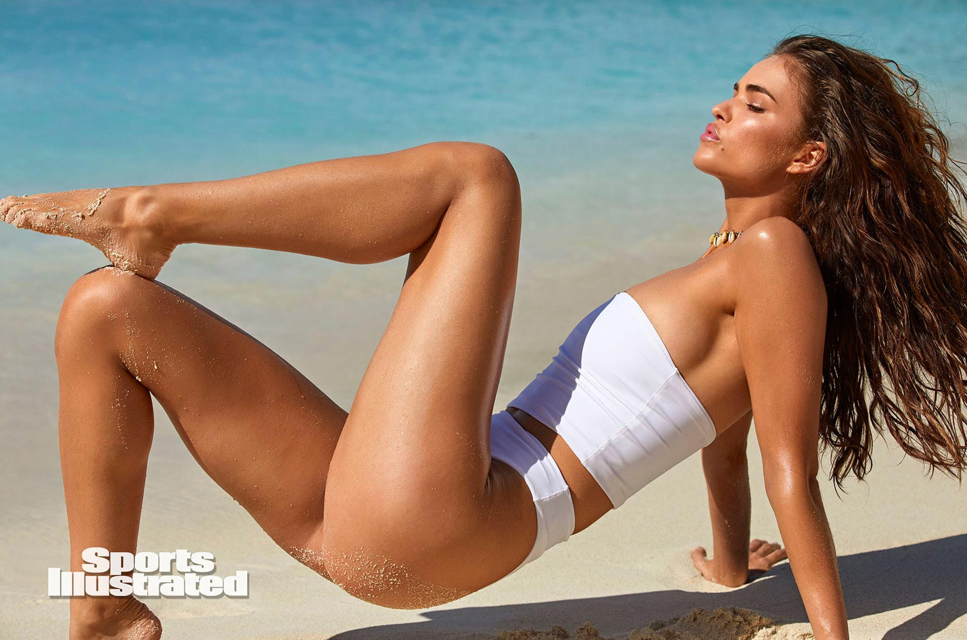 Робин Хольцкен в каталоге купальников Sports Illustrated Swimsuit 2020 / фото 13