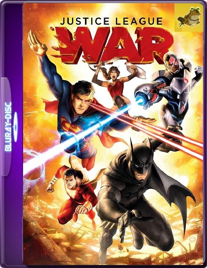La Liga De La Justicia: Guerra (2014) Brrip 1080p (60 FPS) Latino / Inglés