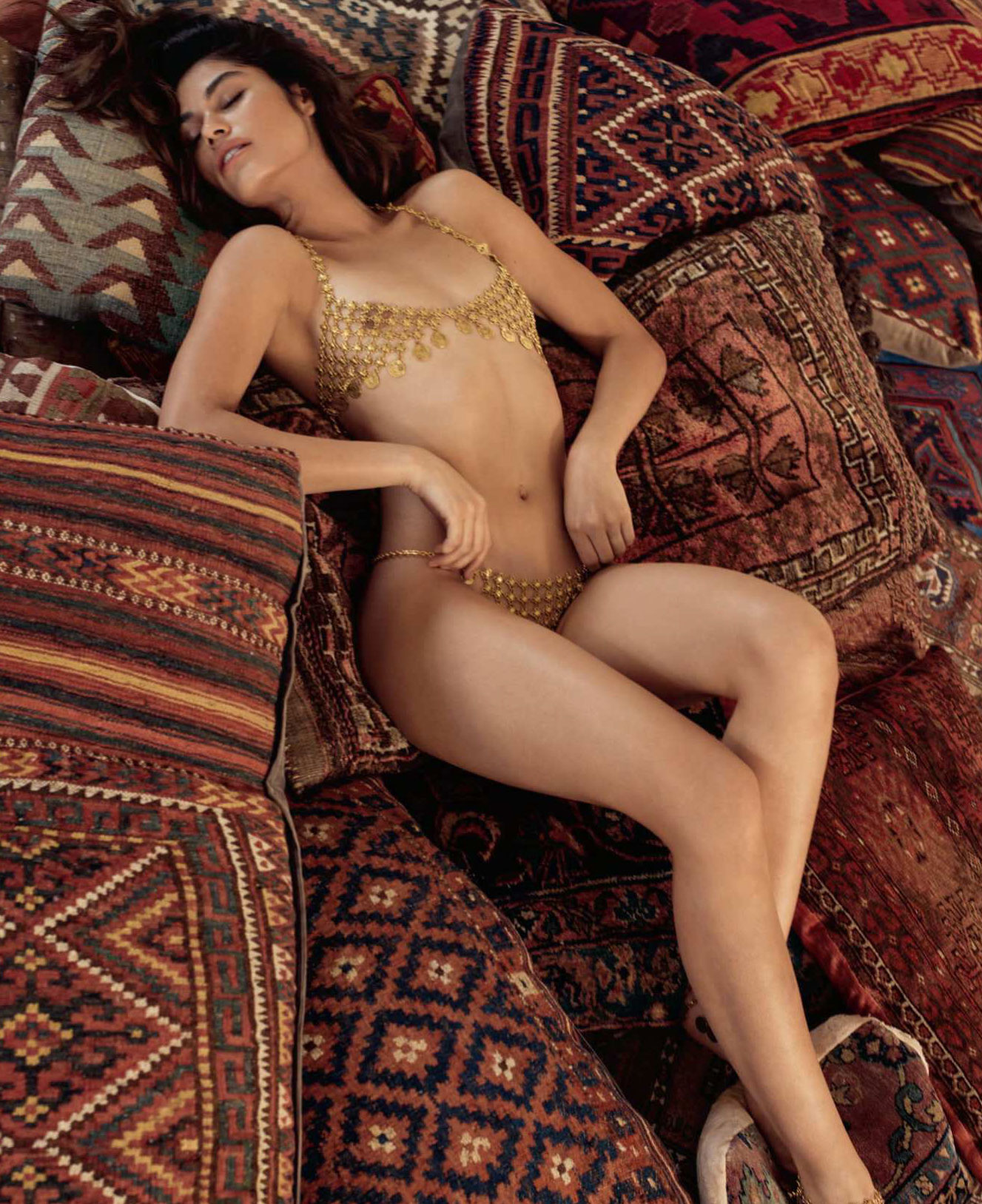 Playmate of the Month of August / Lorena Medina by Christopher von Steinbach - Playboy july/august 2018