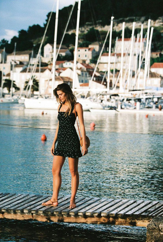 Отдыхаем на пляжах Хорватии с фотомоделью Мэдисон Хедрик / фото 25