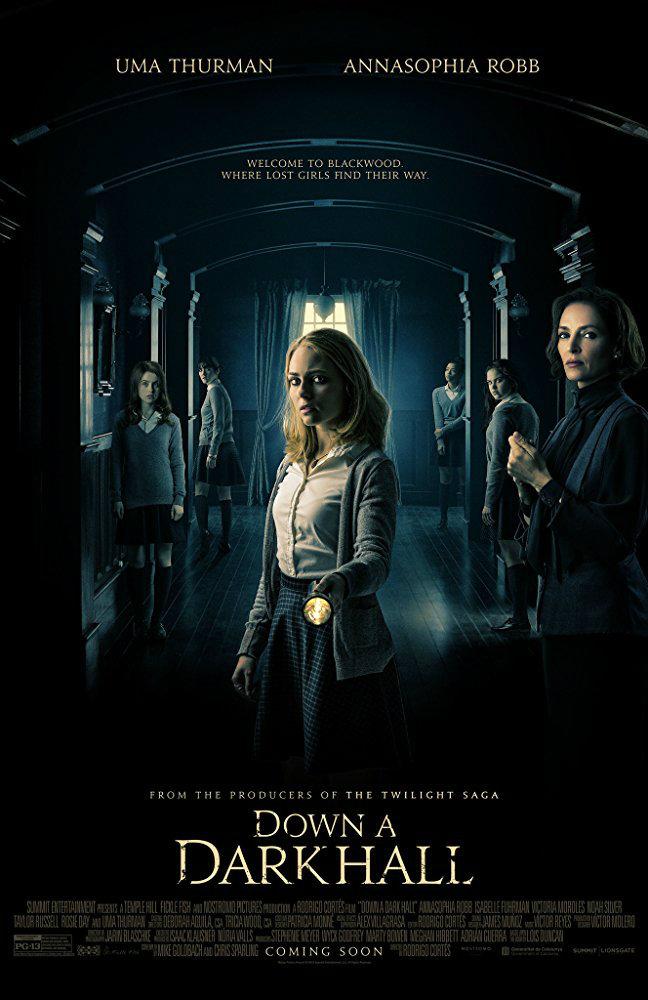 Gece Yarısı Bir Çığlık Duydum - Down a Dark Hall (2018) m1080p DUAL Bluray Torrent indir