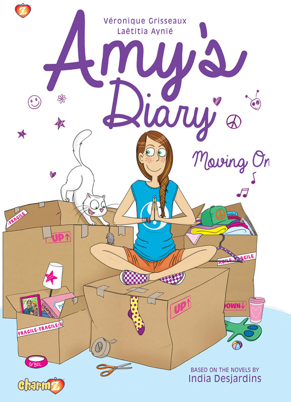 Amy's Diary 03 - Moving On! (Papercutz 2019)