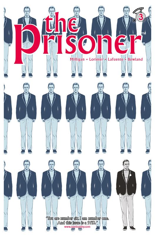 The Prisoner #1-4 (2018)