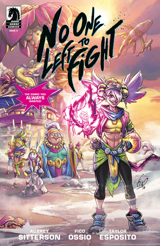No One Left to Fight #1-4 (2019)