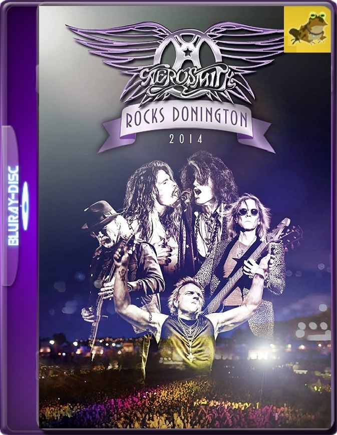 Aerosmith: Rocks Donington (2014) Brrip 1080p (60 FPS) Inglés