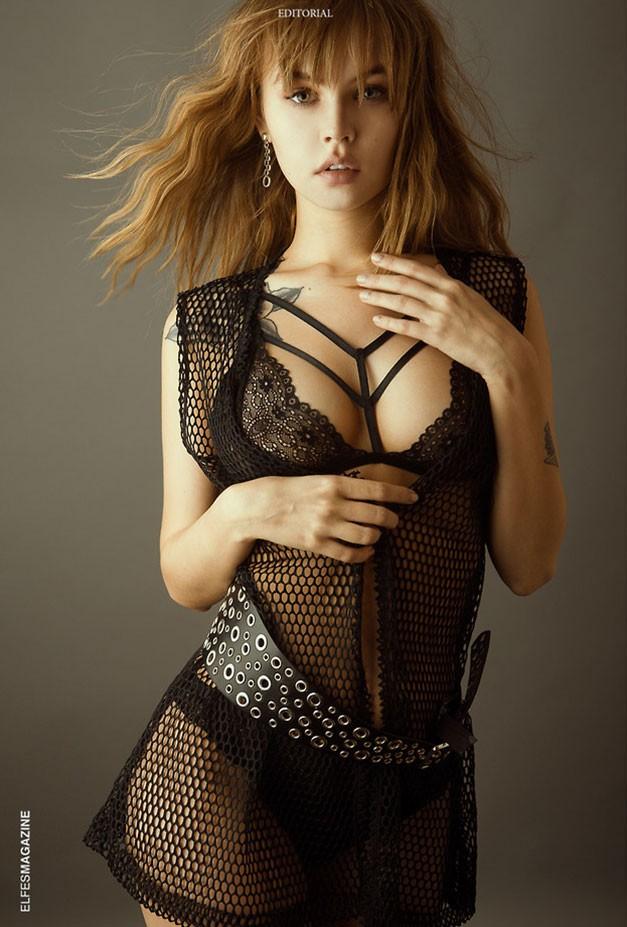 Анастасия Щеглова / Anastasia Sheglova by Alina Belozerova - Elfes Magazine