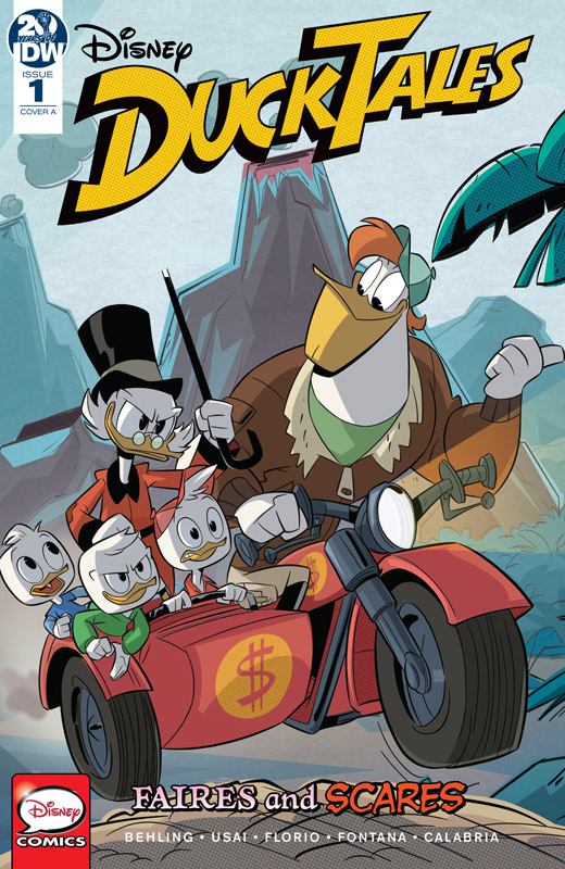 DuckTales - Faires and Scares #1-3 (2020) Complete