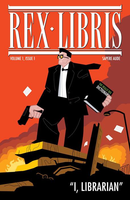Rex Libris #1-3 (2005-2006)