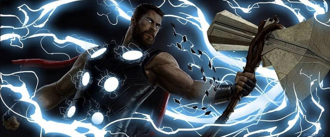 Avengers Infinity War Concept Art Features Drax Vs