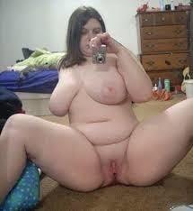 Naked fat girl selfies-9778