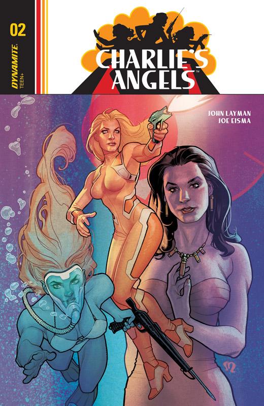 Charlie's Angels #1-3 (2018)