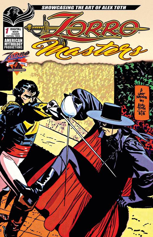 Zorro Masters 001 - Alex Toth (2019)