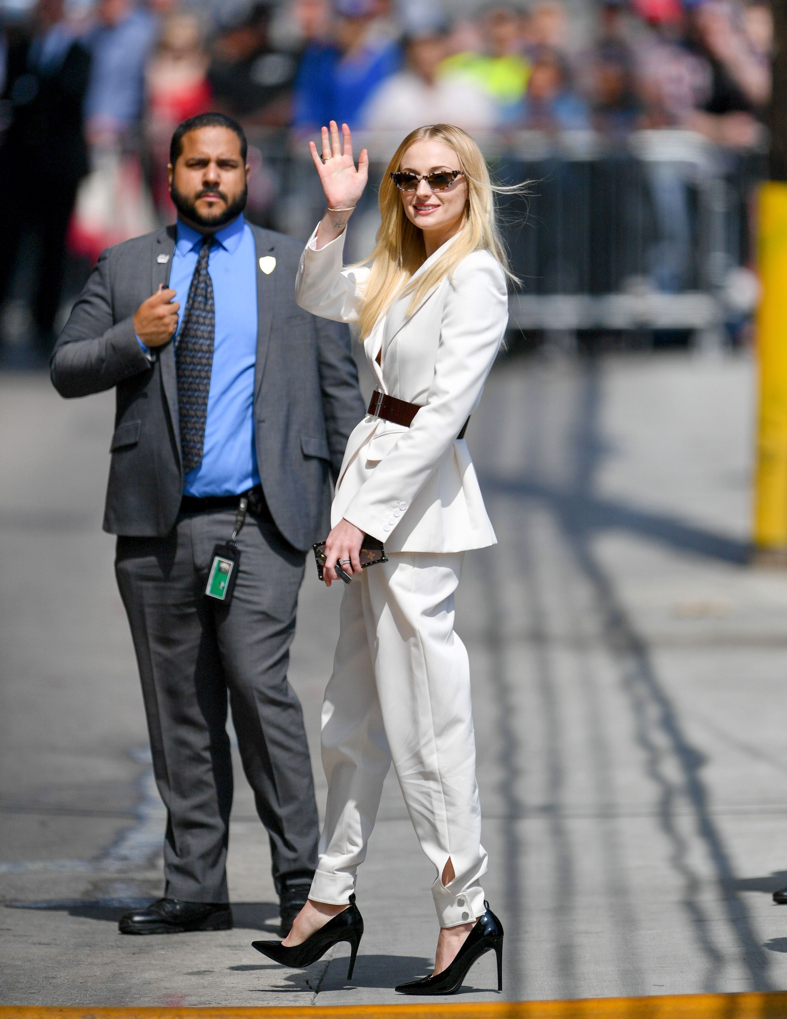 Sophie Turner – outside 'Jimmy Kimmel Live' in Hollywood 4-6-2019