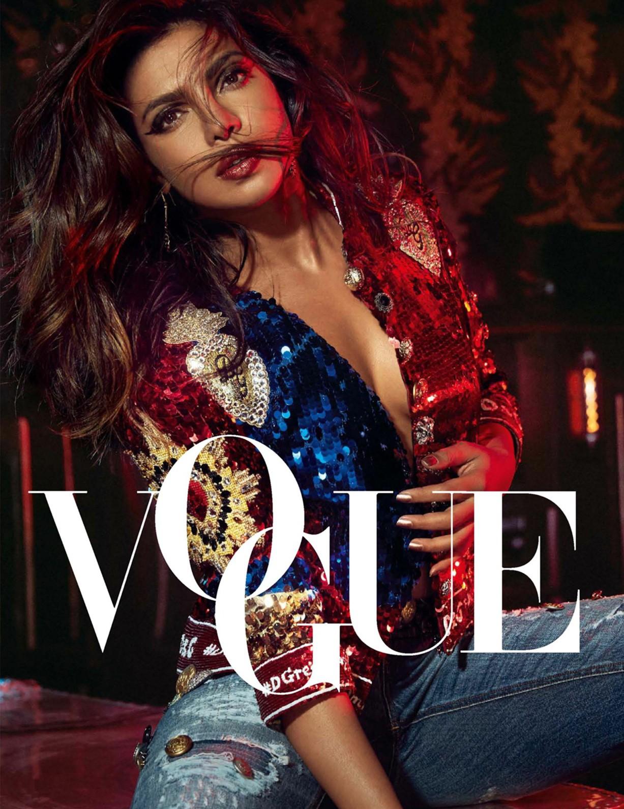Priyanka Chopra by An Le - Vogue India september 2017