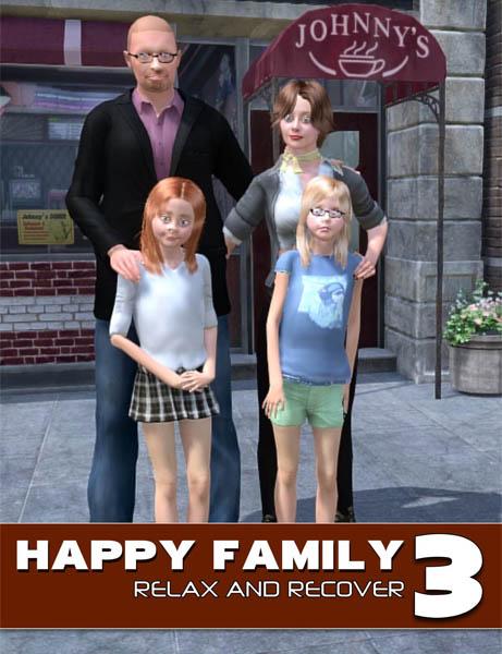 [Kiakiakia] Happy family. Part 3 / comics, eng /