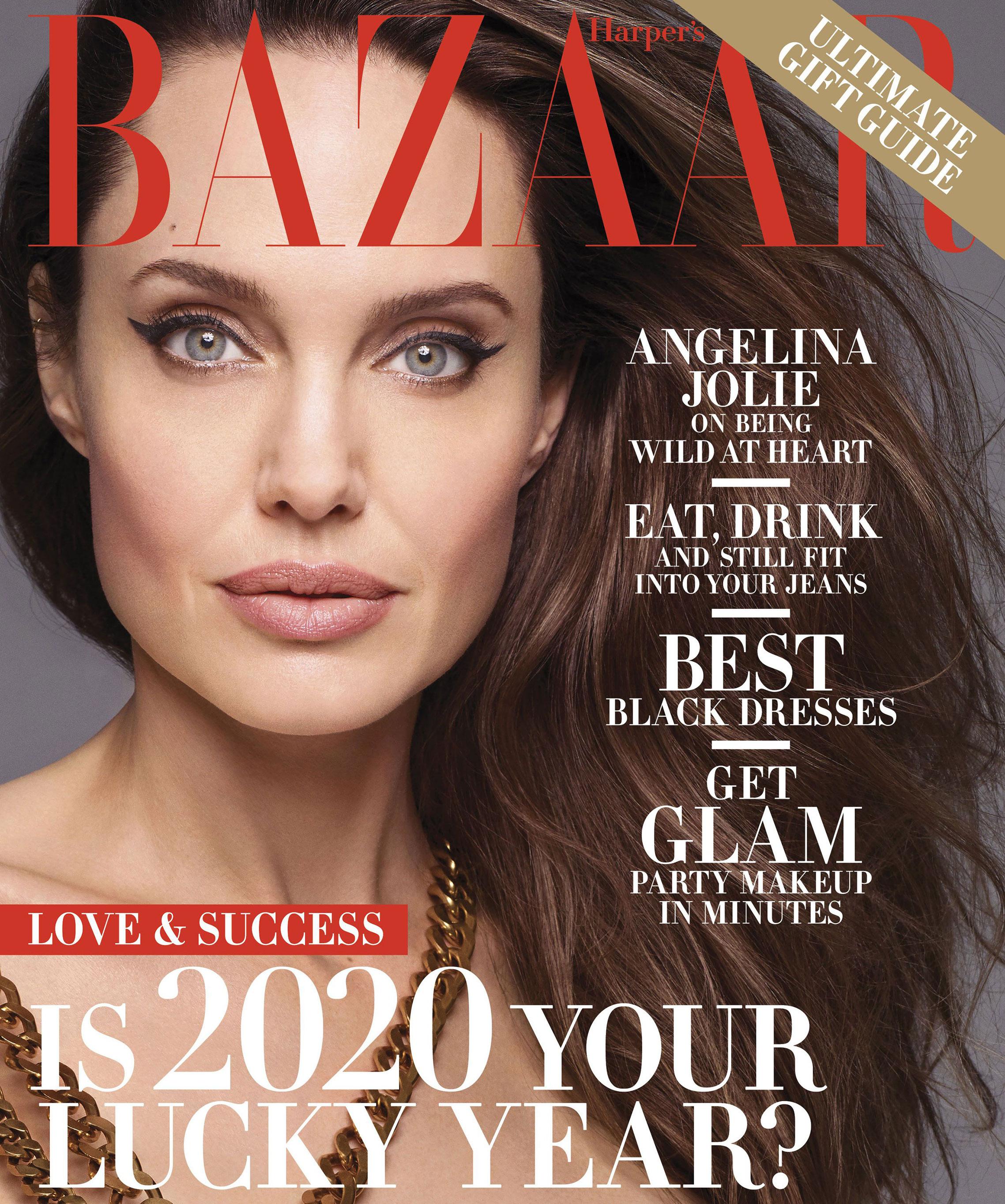 Анджелина Джоли в журнале Harpers Bazaar, декабрь-январь 2020/21 / фото 0