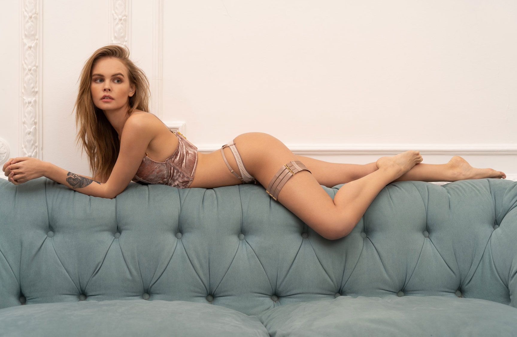 Anastasiya Scheglova / Анастасия Щеглова в новой коллекции 2019 года нижнего белья модного бренда Verse Sensual Underwear