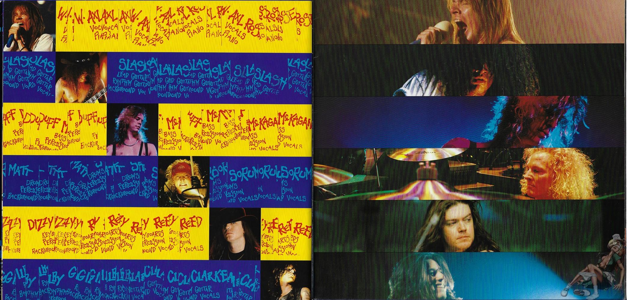 1993.MM.DD - Use Your Illusion Tour program WMoaC7xO_o